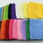 Photo top crochet guide des tailles