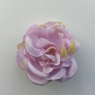 fleur artificielle en tissu de 50mm mauve