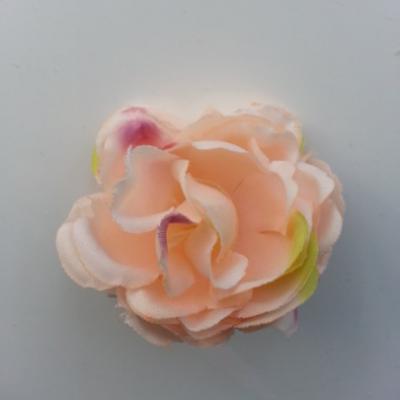 fleur artificielle en tissu de 50mm peche
