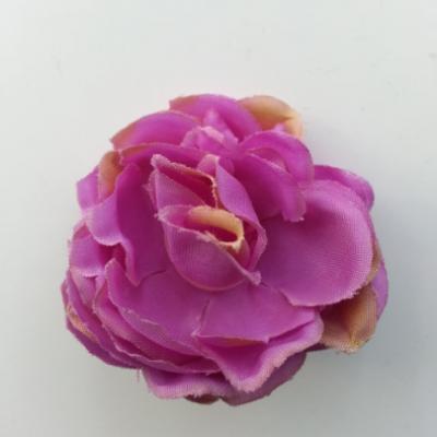 fleur artificielle en tissu de 50mm violet