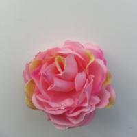 fleur artificielle en tissu de 50mm rose
